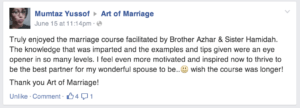 testimonial mumtaz art of marriage